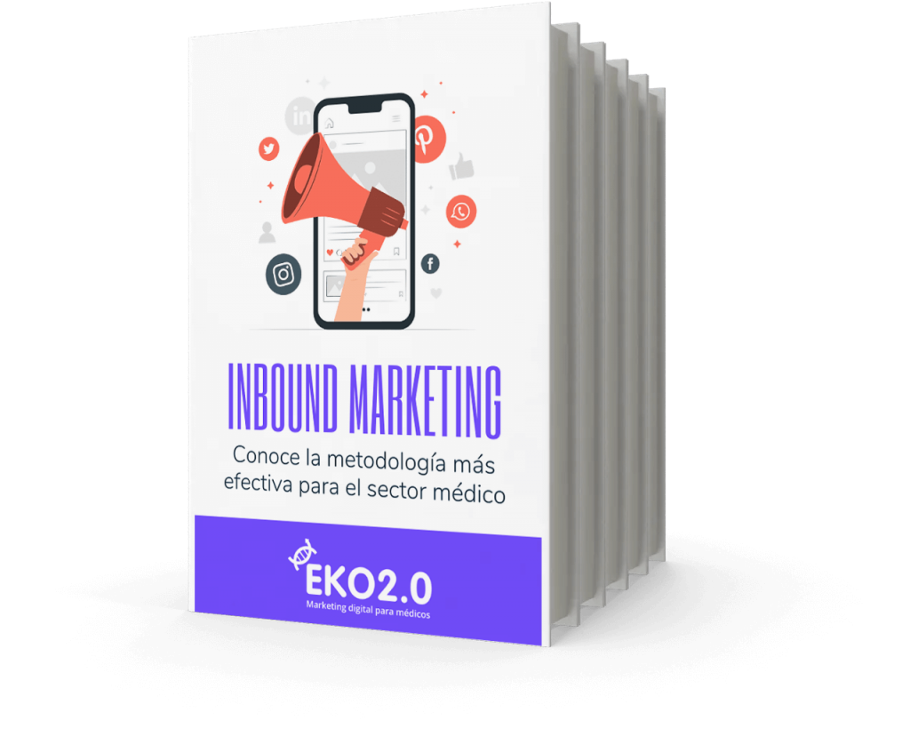 Ebook inbound marketing médico portada