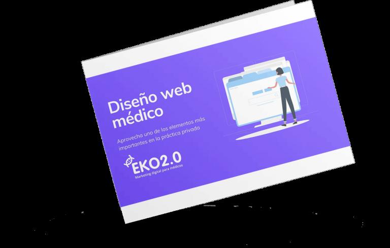 Folleto diseño web médico