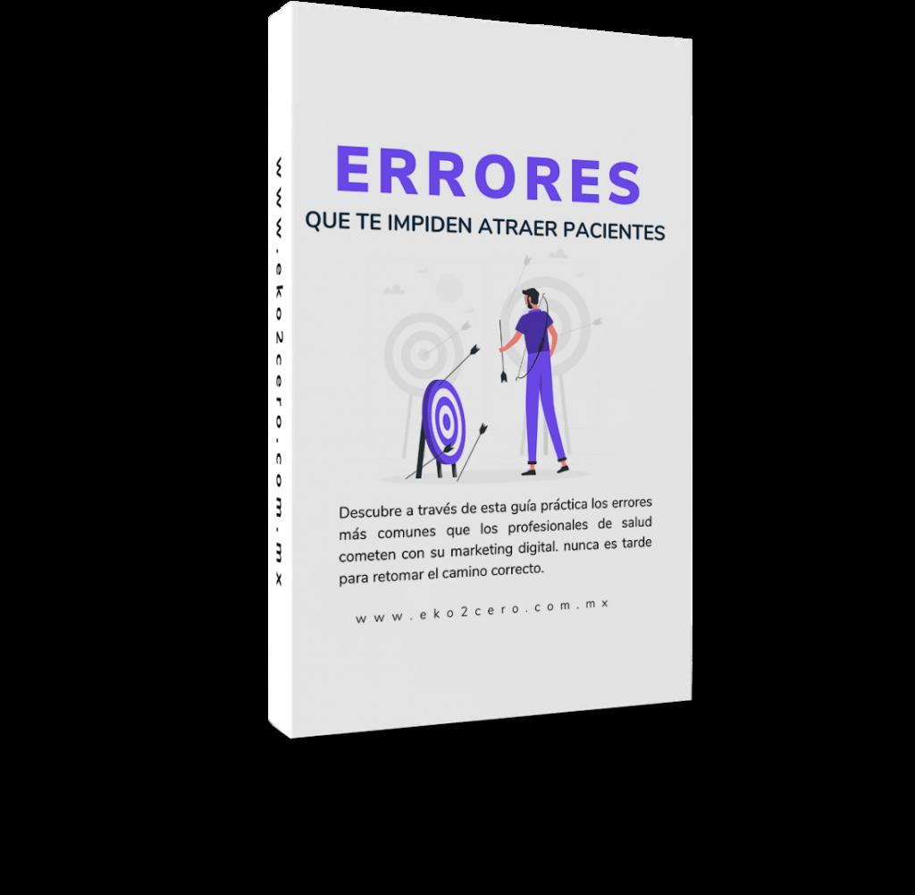 Portada guía de errores para atraer pacientes 2