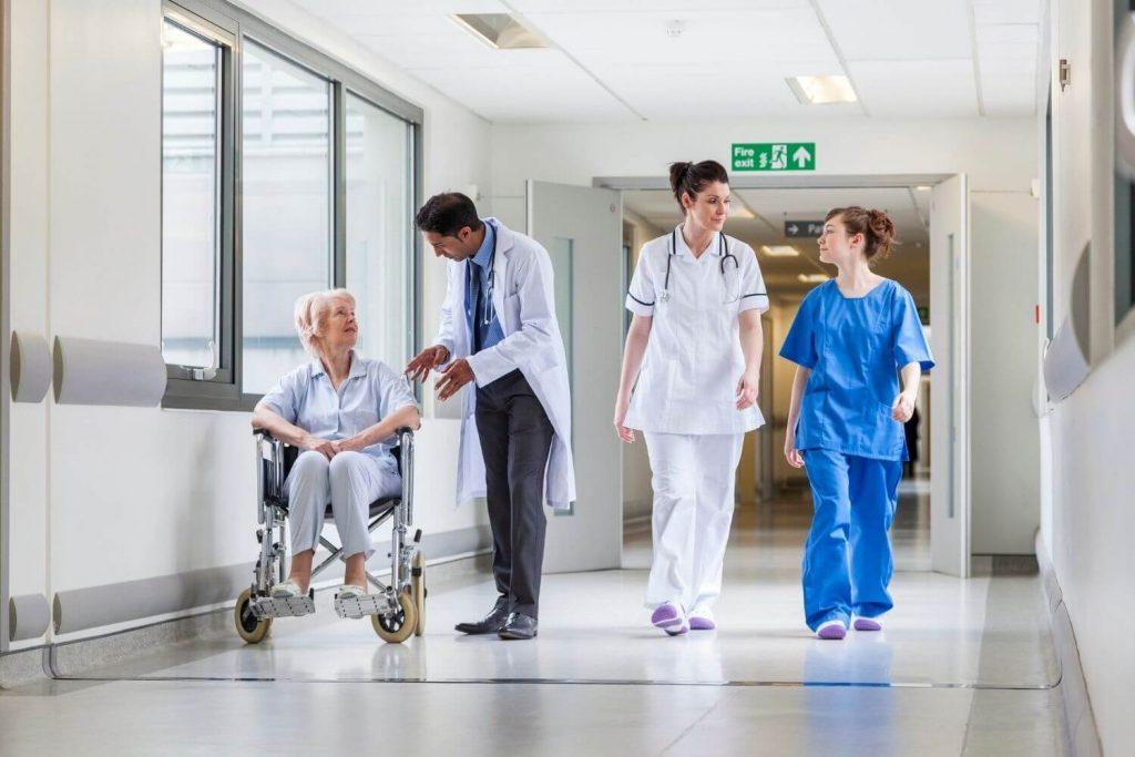 Instalaciones de hospitales